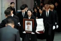Wailing fans bid farewell to South Korean singer, officials flag suici