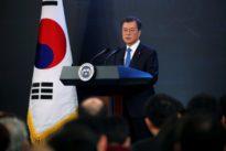 South Korea's Moon says Trump deserves 'big' credit for North Korea ta
