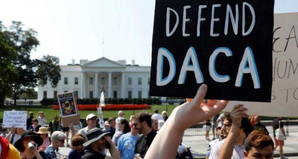 U.S. judge blocks Trump move to end DACA program for immigrants