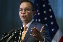 U.S. judge denies effort to stop Mulvaney from heading consumer watchd
