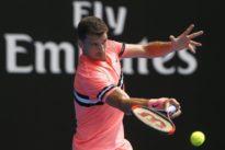 Dimitrov schools Austrian Novak to reach second round