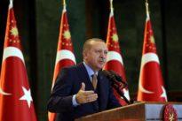 Erdogan says Turkey will crush 'terror army' in northern Syria