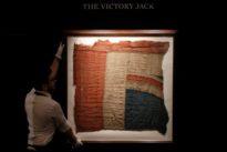 Fragment of flag Nelson flew at Trafalgar sells for almost 300,000 pou