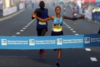 Record-breaking Ethiopians dominate Dubai Marathon