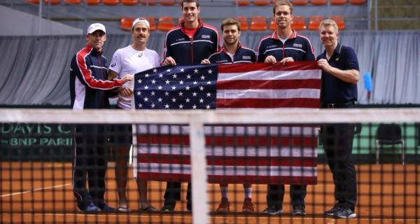 Former champions Serbia and Switzerland knocked out in Davis Cup first