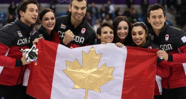 Canada win gold in team event after Chan, Daleman shine
