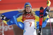 Alpine skiing: Swede Hansdotter wins gold, no medal for Shiffrin