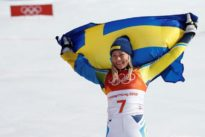 Alpine skiing: Happy Hansdotter enjoys Shiffrin-less podium