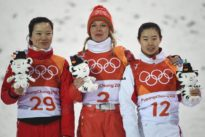 Freestyle skiing: Huskova wins aerials gold for Belarus