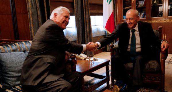 Lebanon speaker: U.S. proposal on Lebanon-Israel disputed waters…