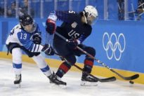Ice Hockey: USA down Finland to head to gold medal game