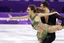Figure skating: Wardrobe malfunction affects ice dancers