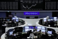 European shares edge higher, focus shifts to central banks, politics