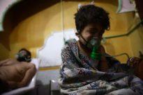 Air strike kills Syrian family of nine in rebel-held Ghouta: monitor