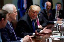 Republicans signal no quick moves on guns despite Trump push
