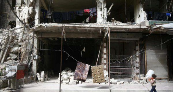Syria's Douma faces catastrophe, says council, as assault grinds on