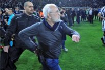 Greece vows 'bold decisions' on soccer after PAOK boss enters field…