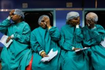 Hope trundles into remote hamlets on India's hospital train