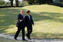 Tokyo fears Trump could link security with trade at summit with Abe
