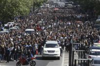 Group of soldiers joins anti-government protests in Armenia