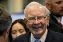 Buffett owns 5 percent of Apple. He'd like to own more