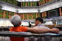 Asia stocks pull back after soft China data- oil higher