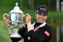 Golf: Ariya averts disaster to win U.S. Women's Open in playoff