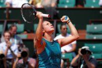 Kasatkina polishes off Wozniacki to reach last eight
