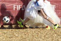 'Brides' enjoy match-making on World Cup stage