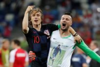 Croatia captain Modric steps up after agonizing penalty miss