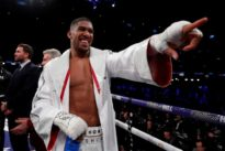 Joshua signs two-fight deal for Wembley stadium