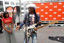 Chic guitarist Rodgers gets back to his busking roots