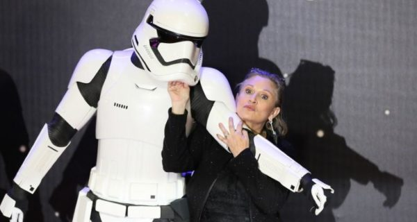 Next 'Star Wars' to use old footage of late Carrie Fisher