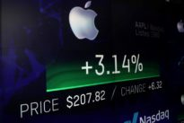Wall Street eyes more gains from Apple, its $1 trillion stock