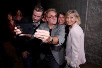 Travolta, Newton-John reunite for 40th anniversary celebration of…