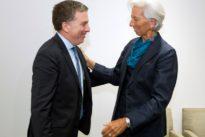 Progress made toward strengthening Argentina program: IMF's Lagarde