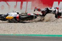 Moto2 rider Fenati dropped by team after brake grab