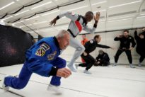 Bubbling Bolt toasts zero-gravity with champagne