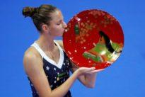 WTA roundup: Pliskova snaps Osaka streak for title