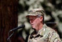 Top Afghan official killed in shooting, U.S. general unhurt