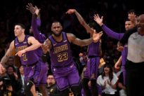 NBA roundup: LeBron moves to 5th all-time scorer in Lakers' win