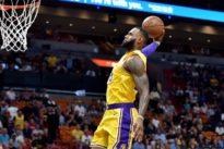 NBA roundup: LeBron, Lakers hammer Heat