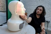 Furhat, a robot with the human touch, wants to hear your woes
