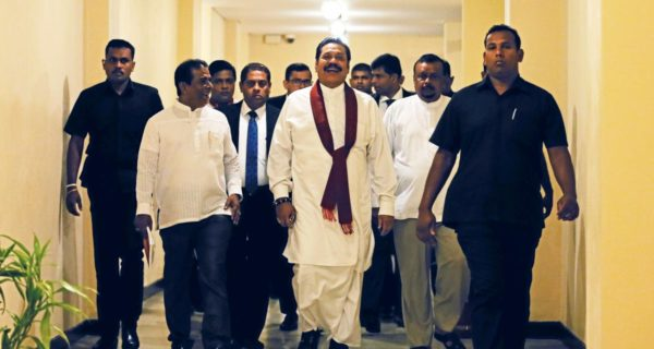 Sri Lanka court bars Rajapaksa from office, disputed PM to appeal