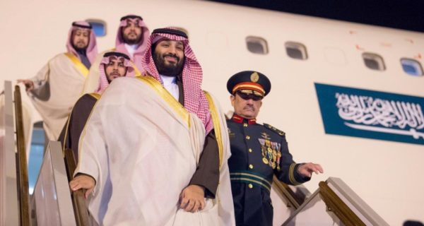Saudi crown prince leaves Algeria after official visit: Saudi state TV