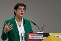New leader nets German conservatives a 3-point poll gain
