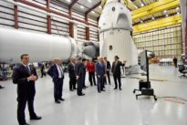 SpaceX says weather forces cancellation of launch of U.S. satellite