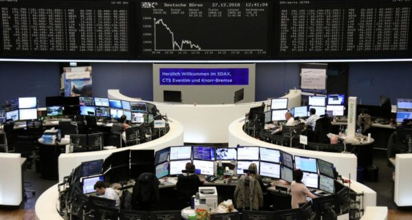 European shares claw back losses after Wall Street bounce