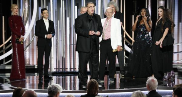 'Bohemian Rhapsody' takes upset win at Netflix-dominated Golden Globes