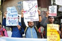Indian scientists protest congress speakers discrediting works of…